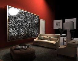 Sofa 239 3D Model