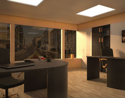 vray office 001 3d