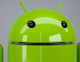 3D Android logo rigged