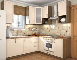 kitchen milano 3d model kitchen 3d models   cgtrader  rh   cgtrader com