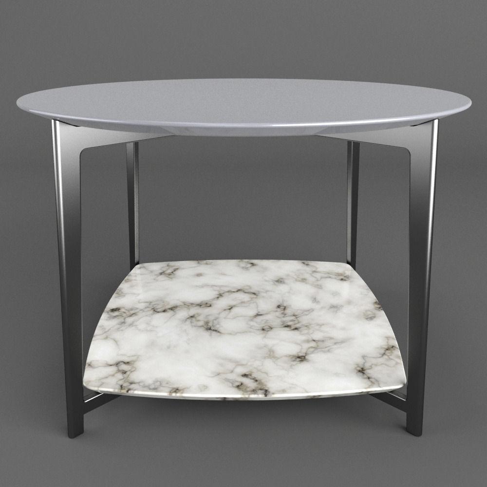 Flexform Double Table 3d Model Max Obj Mtl Fbx Dxf 3dm Dwg 3