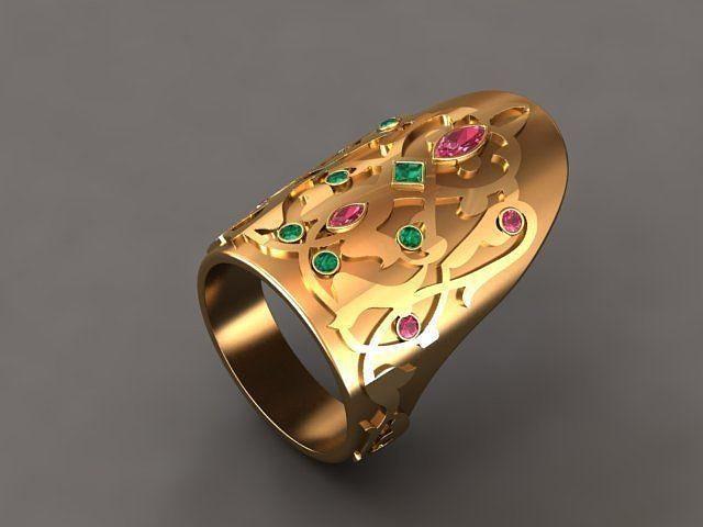 thumb ring osmany 3d model stl 3dm 1