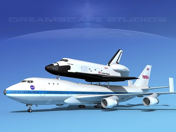 747 space shuttle papercraft - photo #8