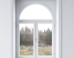 White window 3D model