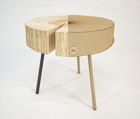 rolf benz 8480 coffee table 3d model max obj mtl fbx unitypackage prefab 1
