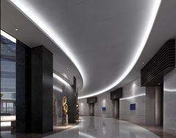 realistic lobby design 21 3d