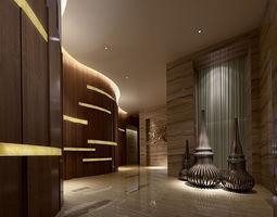 3d  realistic hall design 30