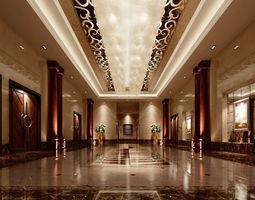 realistic lobby design 18 3d