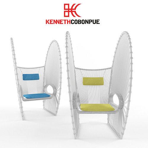 3D Kenneth Cobonpue Papillon CGTrader