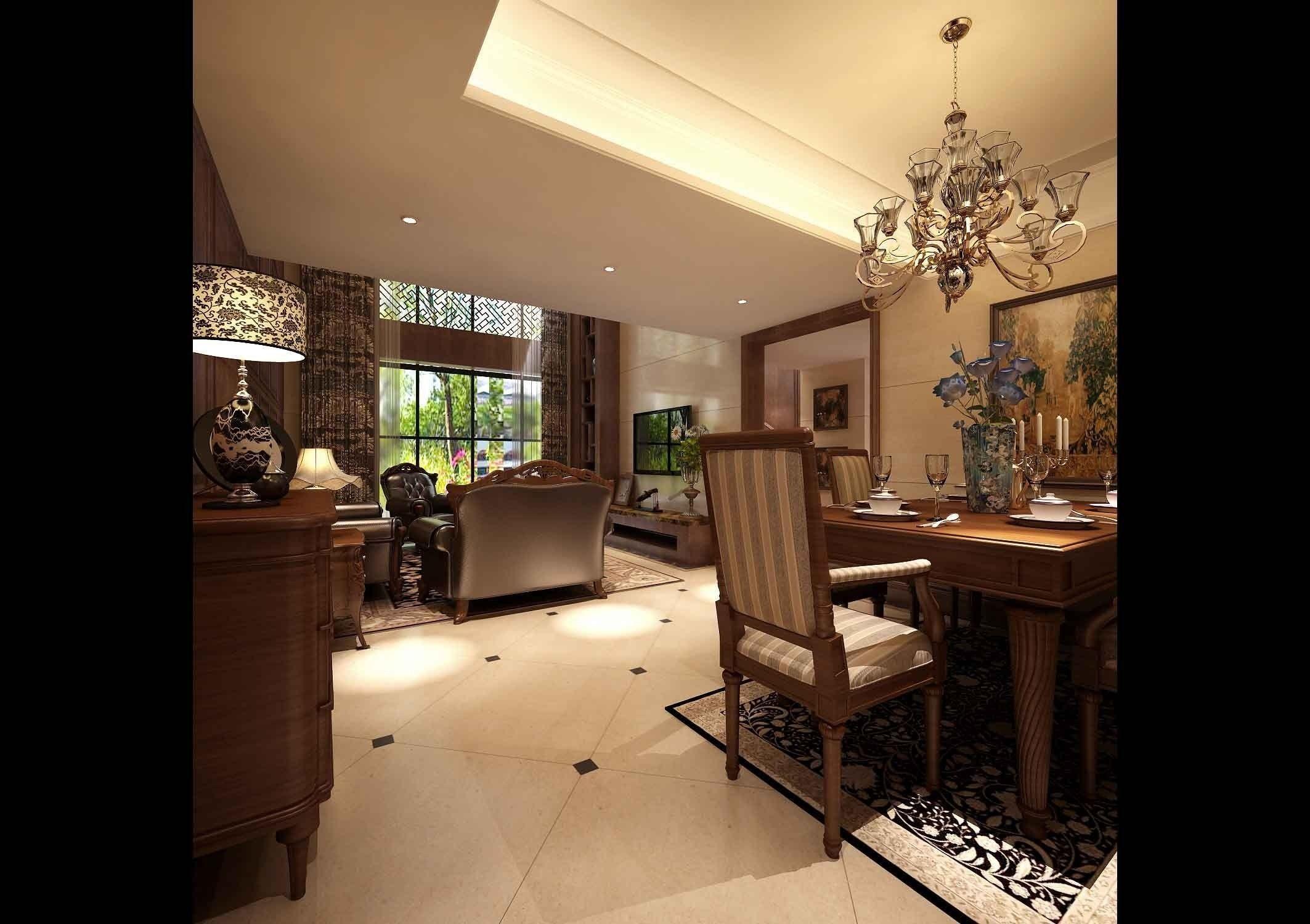 Realistic Living Room Design 174 3d Model Max