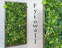 leaf Fytowall spatifilum 3D model