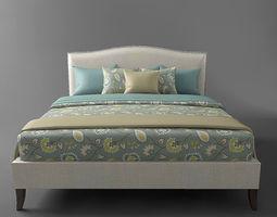3D asset The bed Colette King bed
