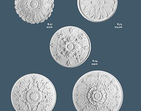 3D collection Ceiling Medallions