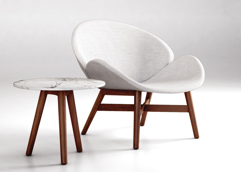 Ordinaire Gloster Dansk Lounge Chair 3d Model Max Obj Mtl Tga 1