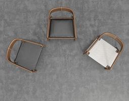 Artisan Tesa Rocking Chair 3D model