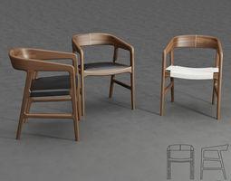 Artisan Tesa Chair 3D