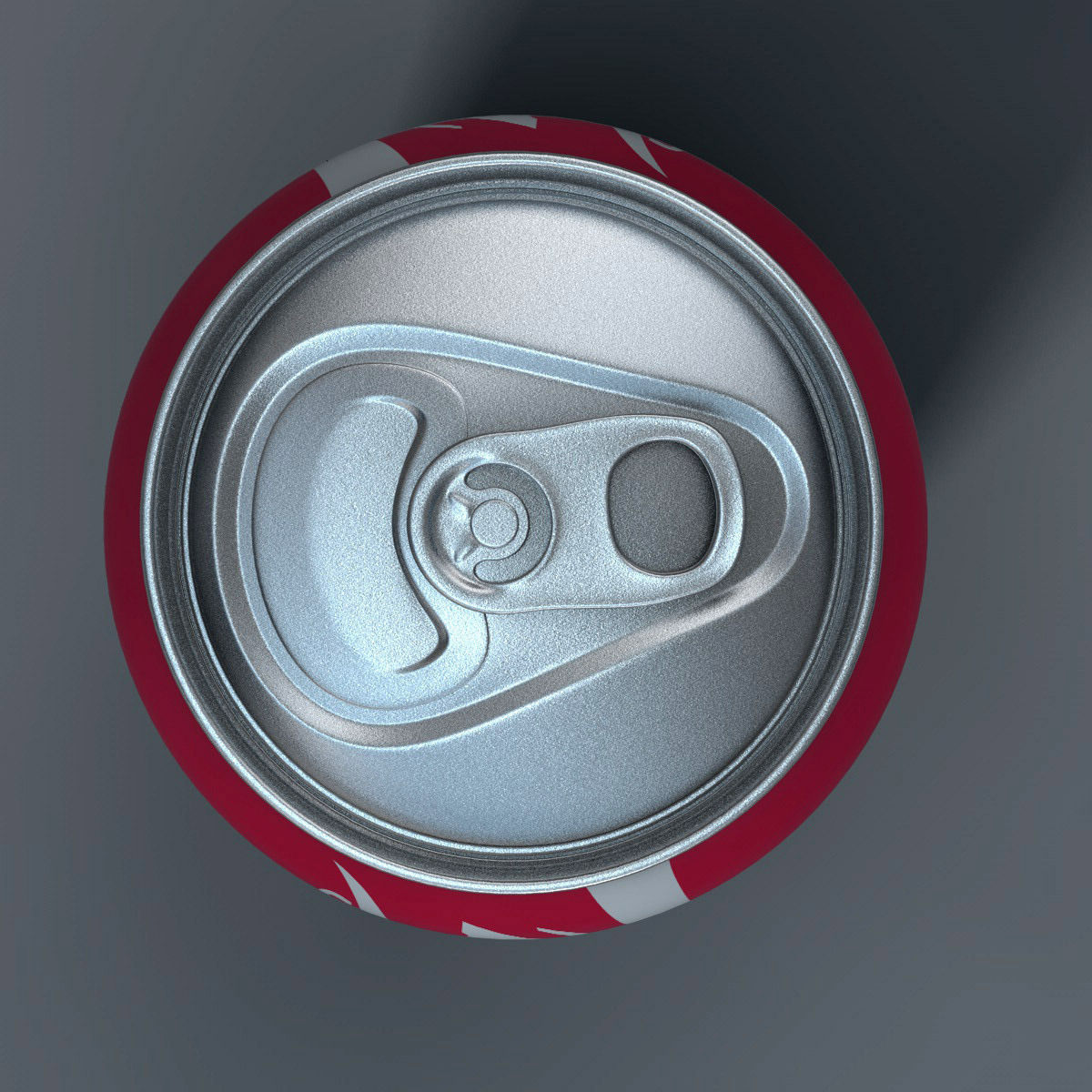 Realistic Coca Cola Can 3D Model OBJ 3DS FBX C4D PDF