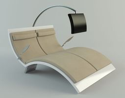 visionnaire with tv 3d model