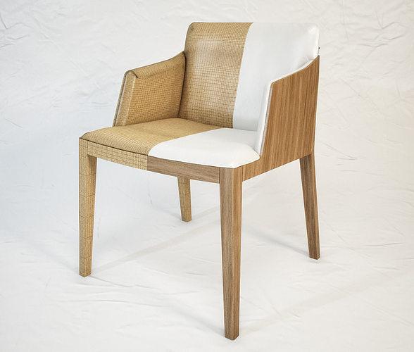 3d model poltrona frau beatrice armchair cgtrader for Poltrona 3d