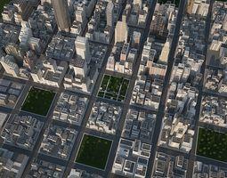 3D model Big City 1