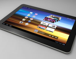 3D model Samsung Galaxy Tab Tablet
