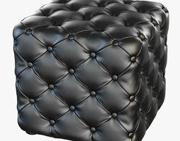 Pouf Porada Alcide 3D model
