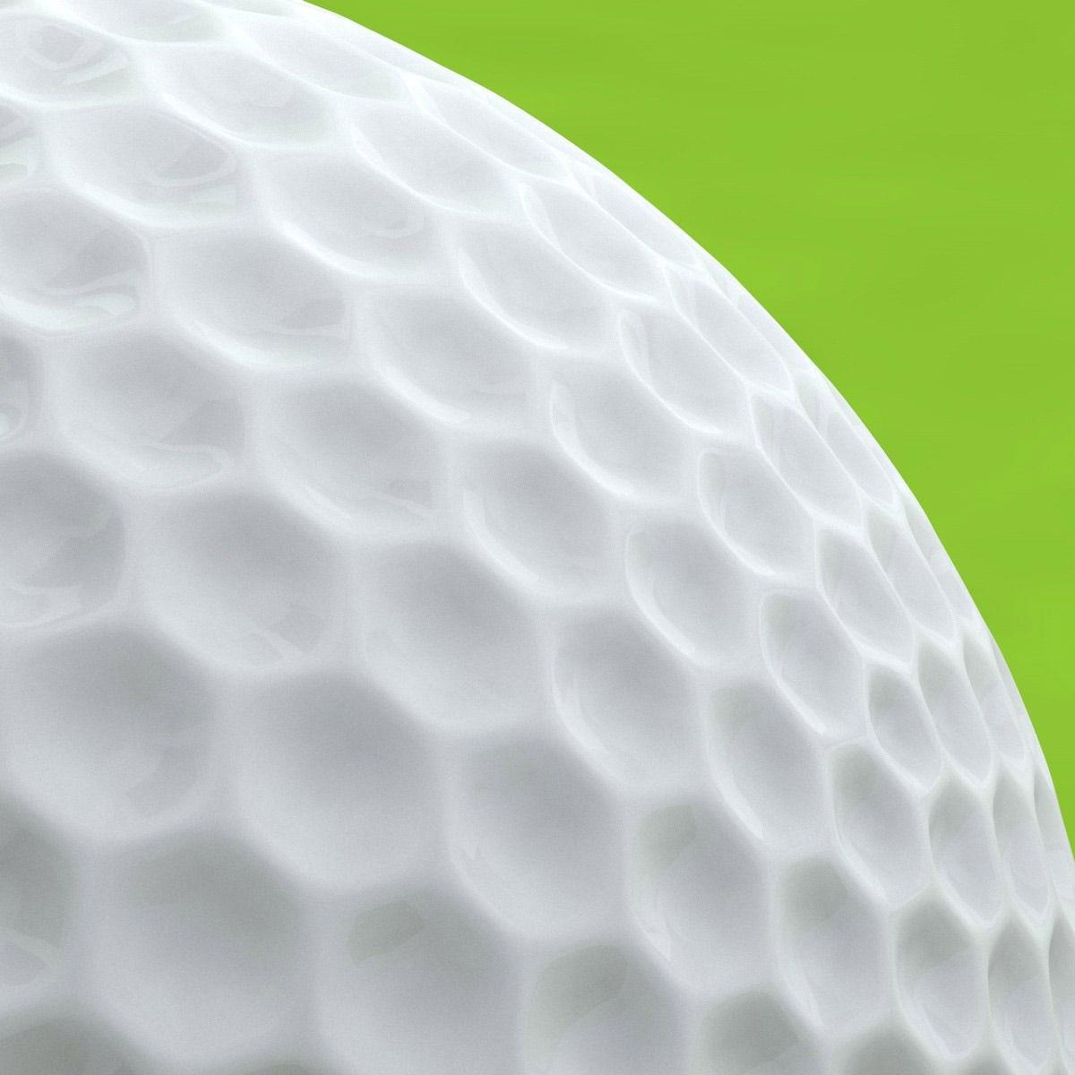 Car Trader Online >> Golf ball 3D Model OBJ 3DS FBX C4D   CGTrader.com