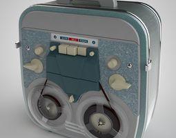 tape recorder 3d