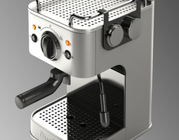 3d model duality espressivo coffee machine