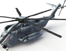 CH53E Super Stallion Version 2 3D Model