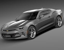 Chevrolet Camaro 2016 3D Model