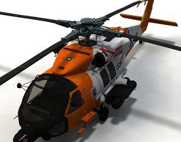 Sikorsky HH60 Jayhawk 2 3D Model