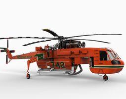 Sikorsky S 64 Skycrane 3D Model