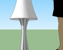 3d printable model Lamp furniture-challenge