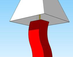 lamp 40 3d print model
