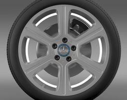 mercedes benz c 300 exclusive line wheel 3d