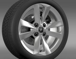 3D Skoda Citigo wheel