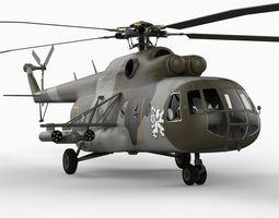 MI17 Helicopter 3D Model