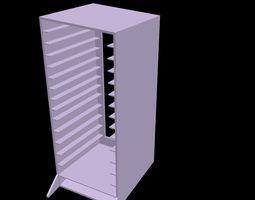 hard disk storage case for 14 bays laptop hdd 3d printable model