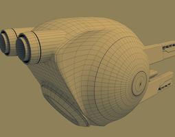 3D model oblivion drone