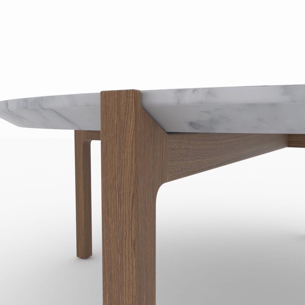 Kendo Lotta coffee table free 3D Model MAX OBJ 3DS MTL ...