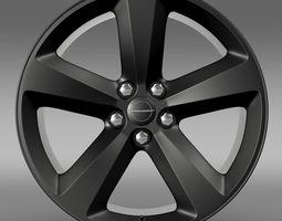 3D Chrysler 300S rim