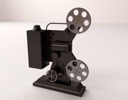 Film Projector 3D