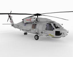 UH60F Seahawk 3D Model