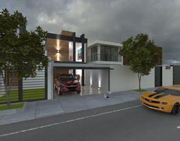 residential 3D model house