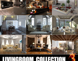 Livingrooms Collection 3 3D
