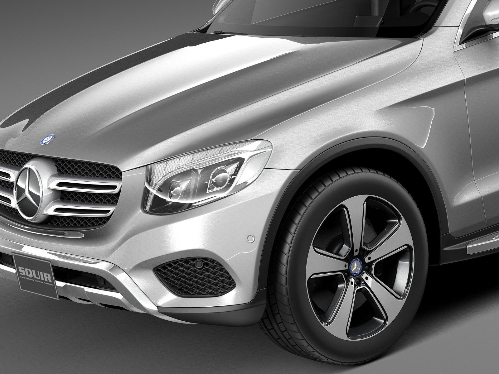 Mercedes benz glc 2016 3d model max obj 3ds fbx c4d lwo lw for 2014 mercedes benz glc