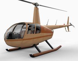 Robinson R44 3D Model