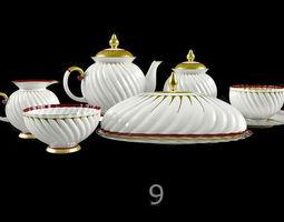 Tableware 3D model cup
