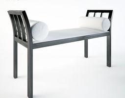 3D model Porada Cheri Bench